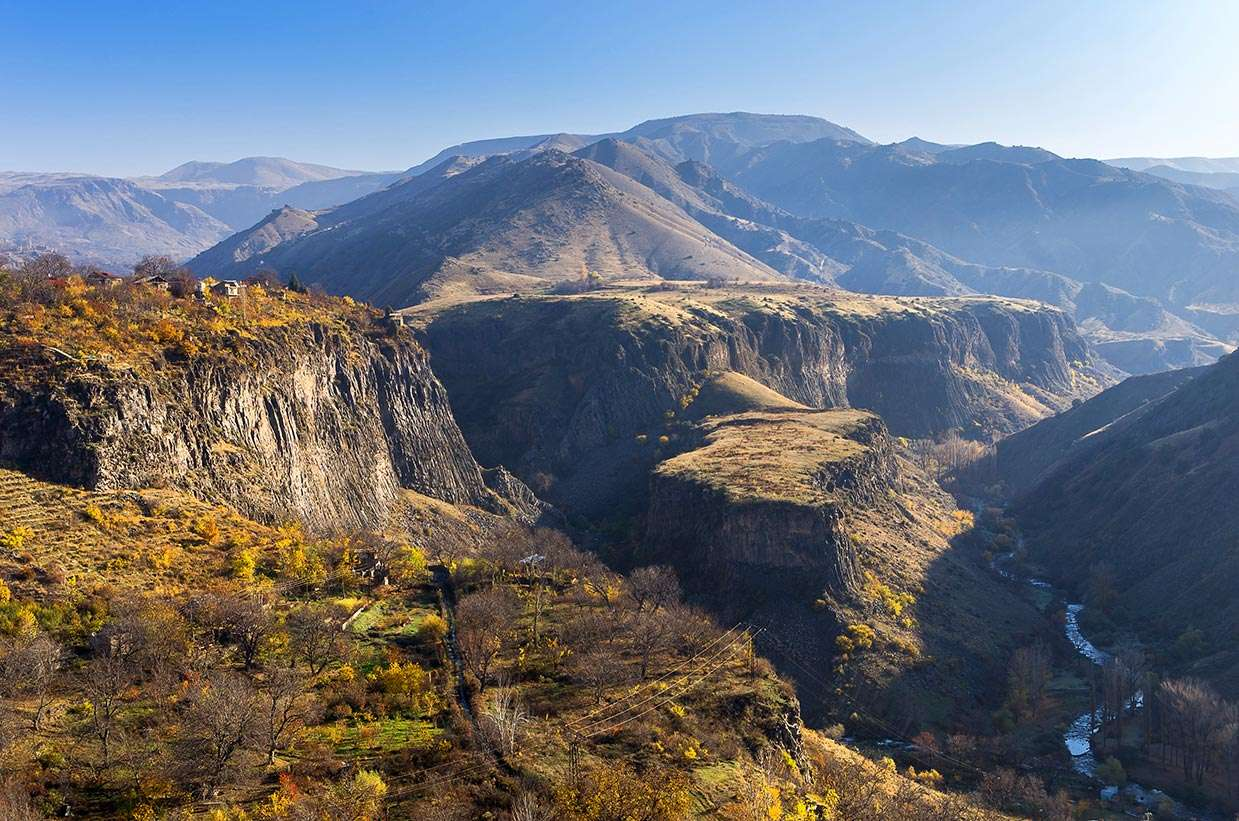 Garni Gorge, Garni Village