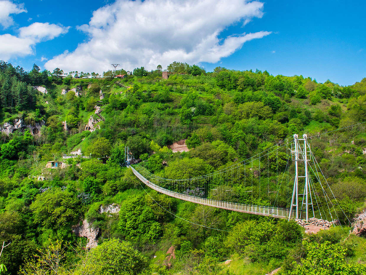 Khndzoresk Village, Khndzoresk, Hiking, Swinging Bridge of Khndzoresk