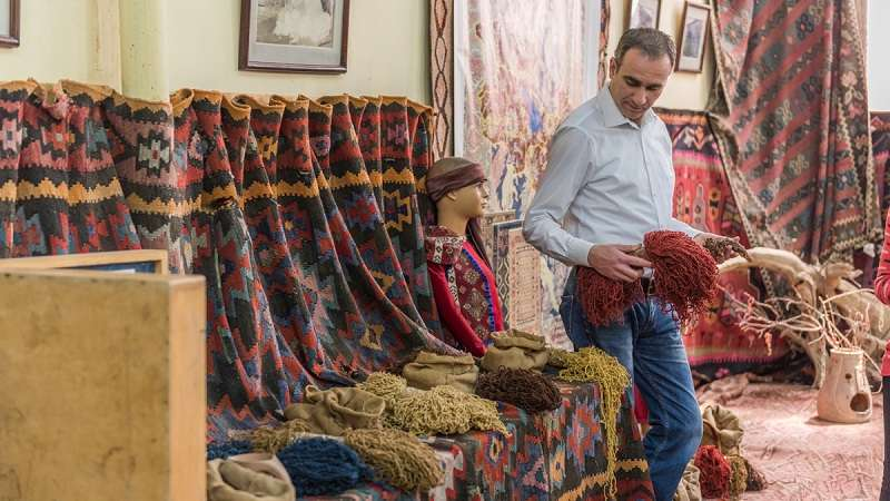 Megerian Carpet Factory, Megerian Carpet, Armenian Carpet