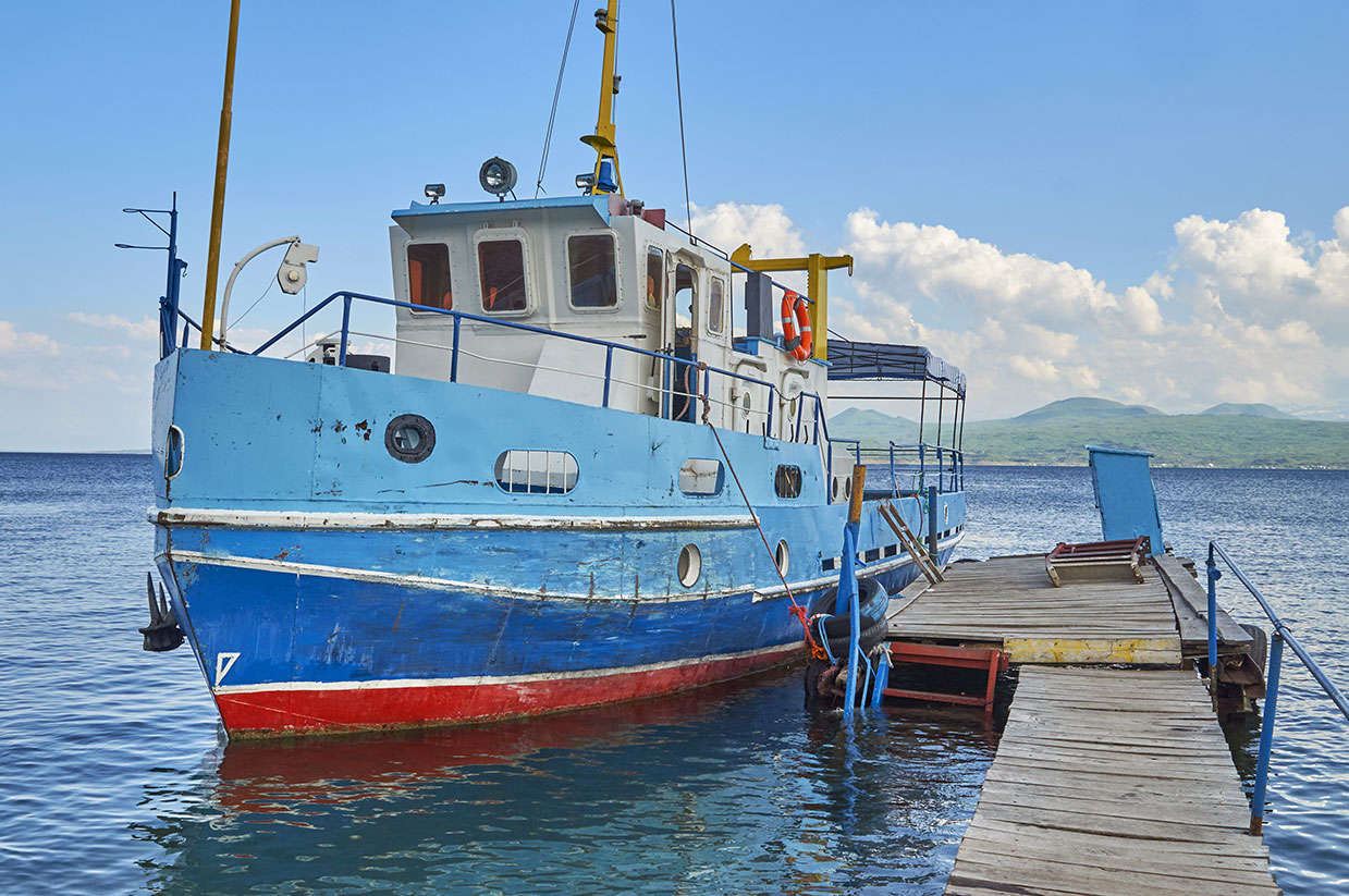 Sevan Lake, Sailing on Lake Sevan, Gehgarkunik Region