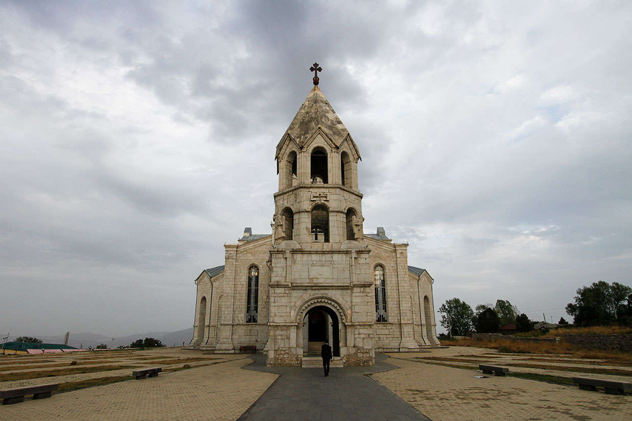 Ghazanchetsots Cathedral, Stepanakert Town